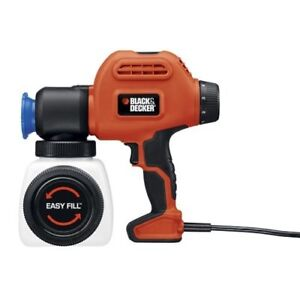 Black & Decker BDPS200 Paint Sprayer with Side Fill, Used Once