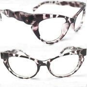Leopard Cat Eye Glasses