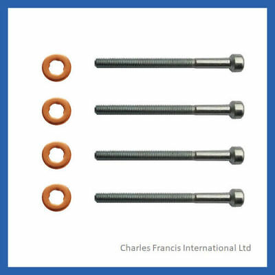 MERCEDES E220 CDI INJECTOR BOLT AND WASHER SEAL KIT - PACK OF 4 - A0009902907