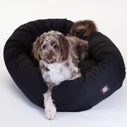 Large Dog Bed Black