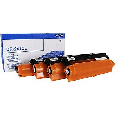 Brother DR241CL Laser Drum Unit - Black, Cyan, Magenta and Yellow (15000 Pages*) ()