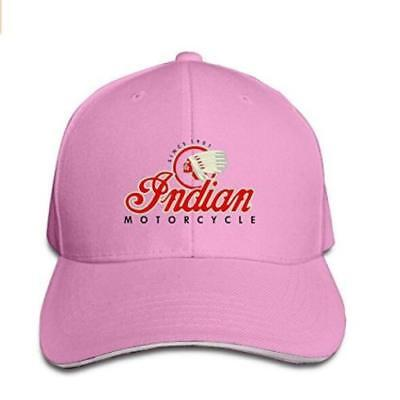 Indian Brand Motorcycles Unisex Adjustable Sandwich Bill Cap