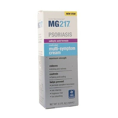 Mg217 Psoriasis Medicated Multi Symptom Cream 3 5 Oz