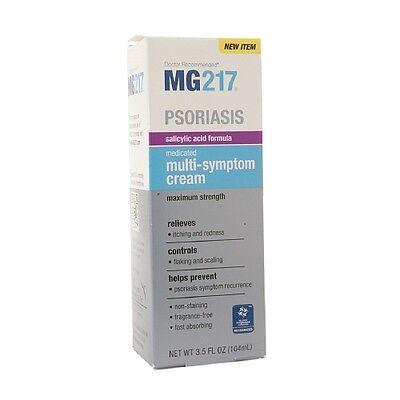 MG217 La psoriasis medicado Multi-Symptom Crema 35 oz