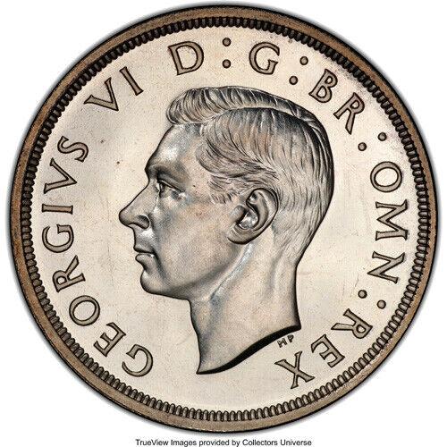 Great Britain 1937 George VI Proof Silver Crown PCRS PR-66 RARE GRADE!!