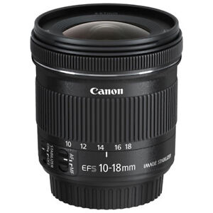 Looking to buy Canon EF-S 10-18mm lens