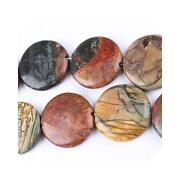 Picasso Jasper Gemstone Beads