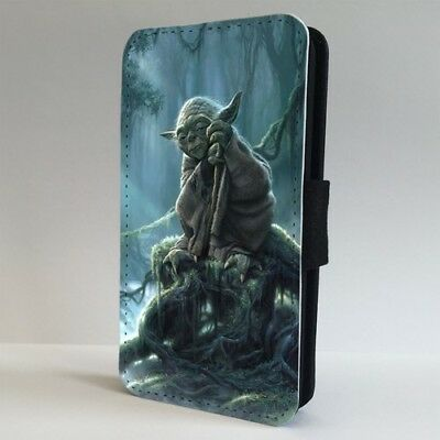 Yoda Jedi Mystical Forest Star wars FLIP PHONE CASE COVER for IPHONE SAMSUNG