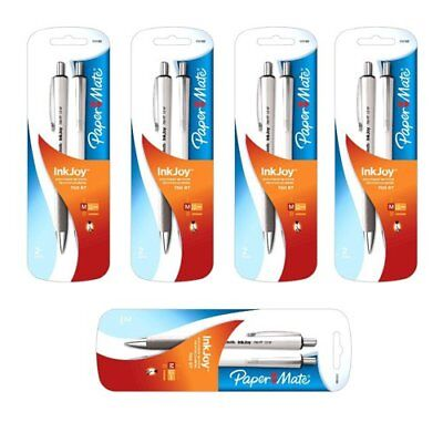 5x Inkjoy 700rt Blk Pen 2 Pack 10 Pens Total