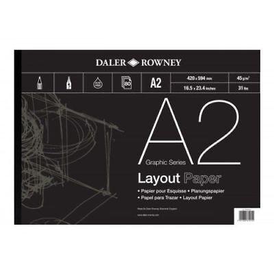 Daler Rowney Layout Pad - A2