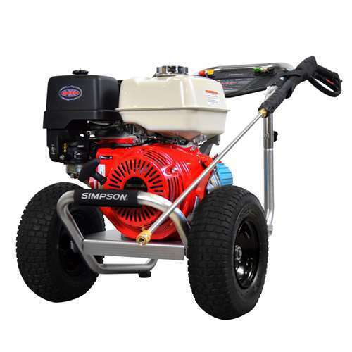Simpson 4,200 PSI 4.0 GPM 389cc Gas Engine Power Washer (For Parts) (2 Pack)