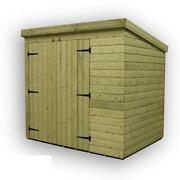 Corner wooden garden sheds ebay for Garden shed 6x3