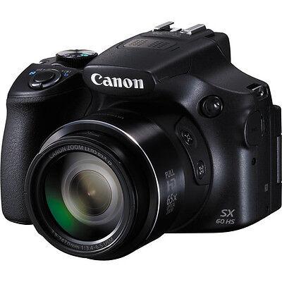 Canon PowerShot SX60 HS Digital Camera (Black)!! BRAND NEW!!