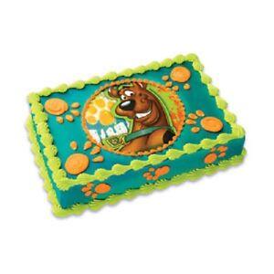 Scooby Doo Birthday Cake Decorations