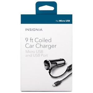 Insignia NS-PMC55-C microUSB Car Charger (New other)