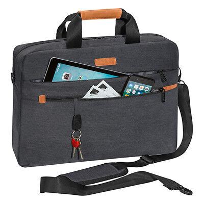 Laptoptasche Umhänge Schulter Tasche für Notebook bis 15,6 Zoll inkl Tablet Fach