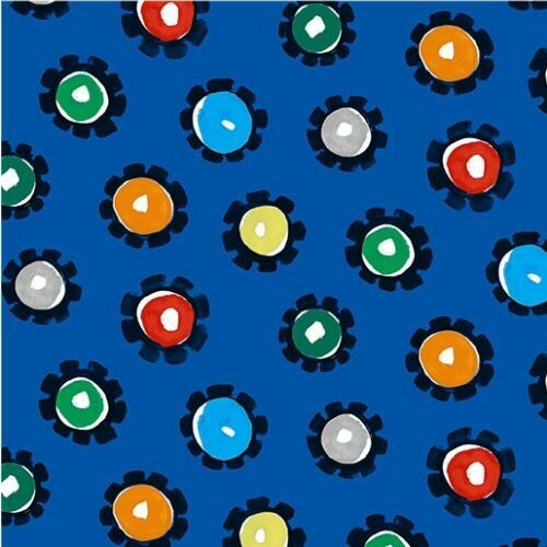Diggers And Dumpers By Michael Miller Fabrics - Royal Hot Wheels  #9410-Roy