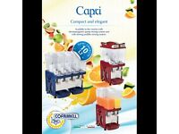 Capri 3M Cofrimell Italian Drink dispenser 3x10L_,,,boost sale-,,made by italy-,,