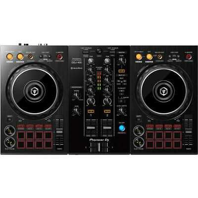 Pioneer DJ DDJ-400 Portable 2-Channel rekordbox DJ Controller (Black) segunda mano  Embacar hacia Argentina