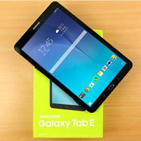 "Tablet Samsung Galaxy Tab E 9.6"" Wi-Fi only"
