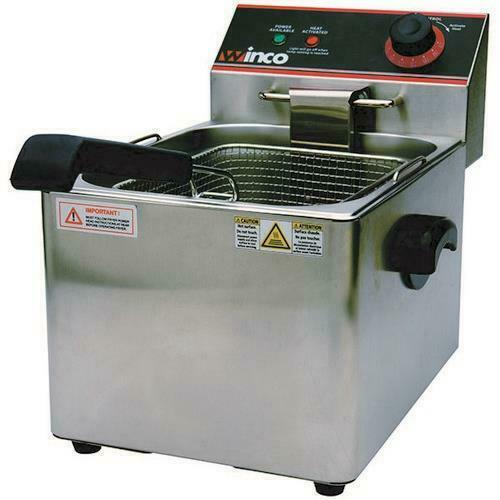 Winco - EFS-16 - 16 lb Electric Countertop Fryer