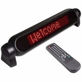 LED Scrolling Message Board Brand New In Box