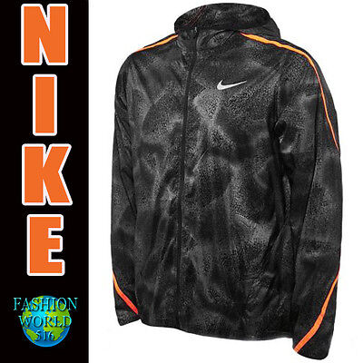 Nike Men's Size XL Shield Impossibly Light Running Jacket 800899 021 MSRP $120