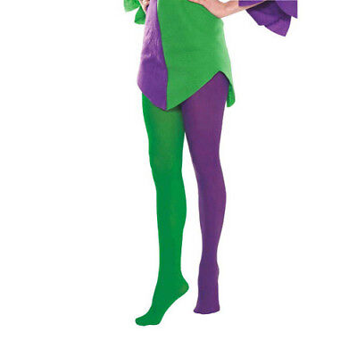 MARDI GRAS JESTER Adult TIGHTS (1 pair) ~ Birthday Party Supplies Costume Green - Mardi Gras Tights