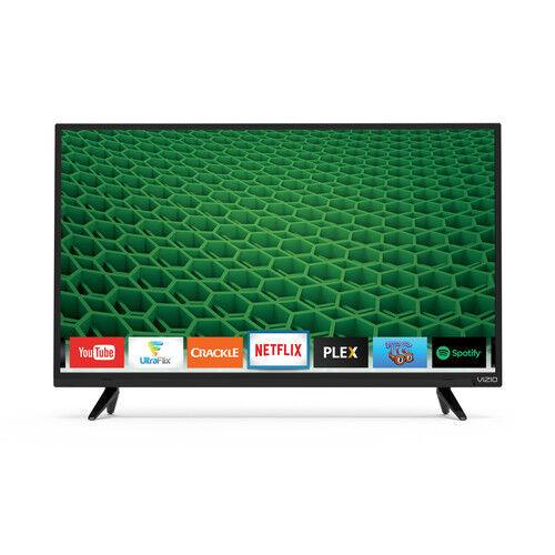 """VIZIO 32"""" Class (31.5"""" Diag.) LED 720p Smart HDTV Black D32H-D1"""