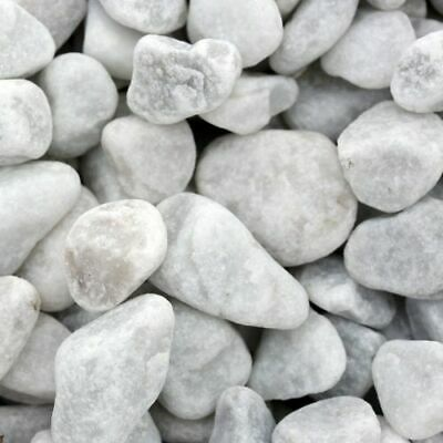 Carrara Kies Original Zierkies Gartenkies 15/25 mm