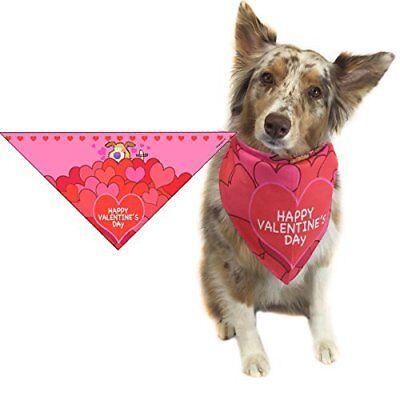 Valentine's Day Dog Bandana - Medium to Large Dogs -  46005
