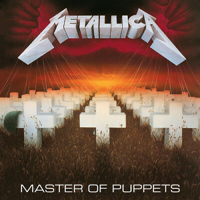 Metallica   Master Of Puppets  New Vinyl Lp  Rmst