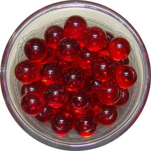 2 Red Marbles : Clear marbles ebay