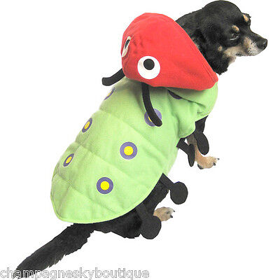 NWT Size XS  * CATERPILLAR *  Dog Halloween Costume X-Small (Dog Caterpillar Costume)