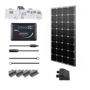 Renogy 100 Watt 12 Volt Monocrystalline Solar RV Kit