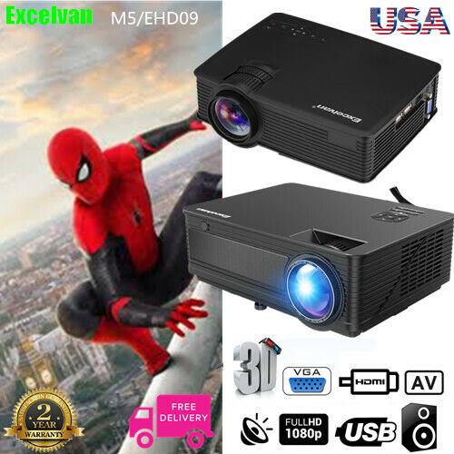7000 lumens led projector hd 1080p 3d