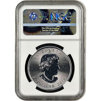 2015 Canadian Silver Maple Leaf Coin NGC MS69