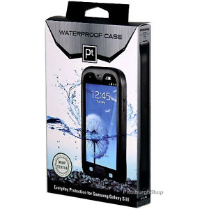 NEW Seidio PT OBEX Waterproof Hard-shell Case for Samsung Galaxy S3 III - Black