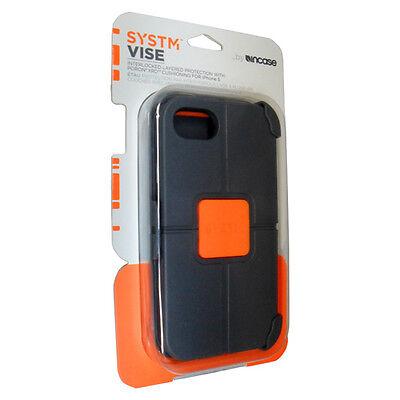 Original Systm Incase Vise Gray/orange Case For Apple Iph...