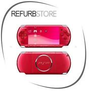Sony PSP 3000 Console Red