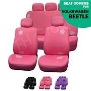 VW Beetle Pink