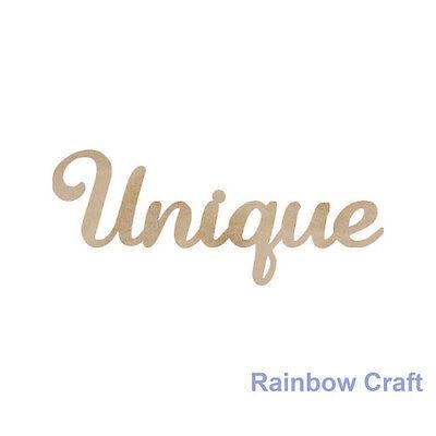 Kaisercraft Wooden Embellishments flourish Pack 18 wording / patterns U select - Unique