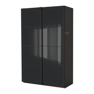 IKEA BLACK WARDROBE FOR SALE South Melbourne Port Phillip Preview