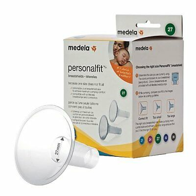 Medela PersonaFfit Breastshield Breast Shield Flange Large 27mm x2 87274