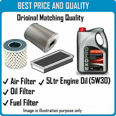 AIR OIL FUEL FILTERS  AND 5L ENGINE OIL FOR  FOR NISSAN OEM QUALITY 2080 4069 81