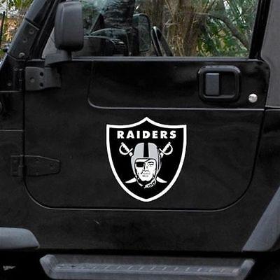 Oakland Raiders 12  Logo Car Truck Auto Vinyl Magnet