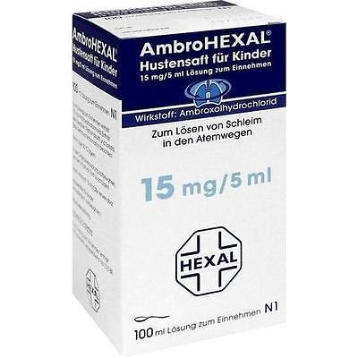 AMBROHEXAL Hustensaft für Kinder 100 ml PZN 3692346