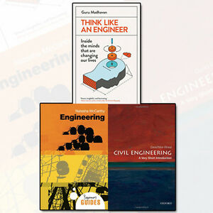 Think Like An Engineer,Civil Engineering 3 Book Collection NEW Beginner's Guides