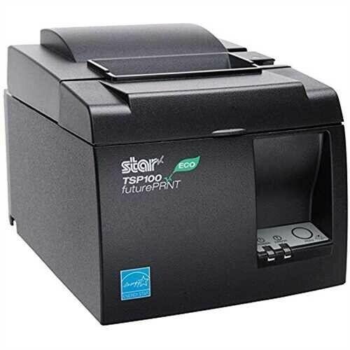 Star Micronics TSP143IIU GRY US, ECO-Friendly Receipt Printer