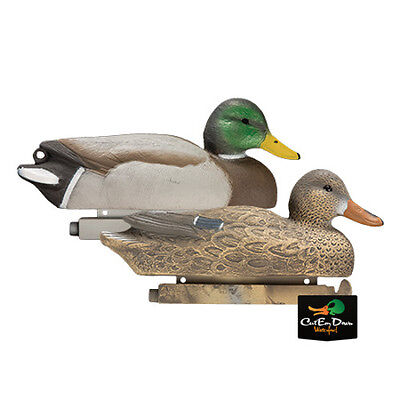 """TANGLEFREE PRO SERIES FLOATING MALLARD DUCK DECOYS WEIGHTED KEEL 16"""" 6 PACK"""